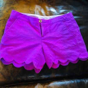 Lilly Pulitzer Buttercup Shorts SZ 0 NWOT EUC